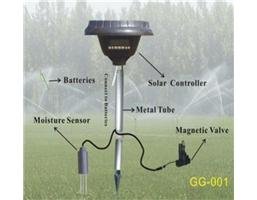 Moisture-Controlled Solar-Powered Controller