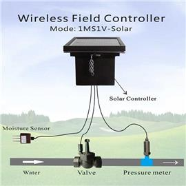 Wireless Solar powered field controller