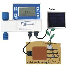 Mini Irrigation Controller with Moisture sensor and 3/4 Inch valve